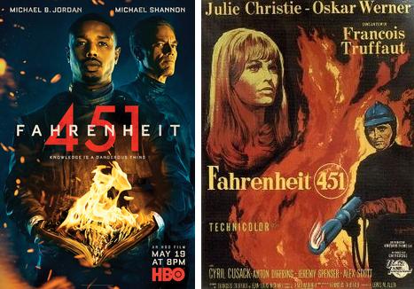 """As Leituras da Fernanda: """"Fahrenheit 451"""" de Ray Bradbury (Opinião)"""
