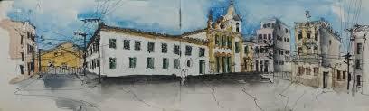 Ruas de Salvador inspiram encontro nacional de desenho de locação |  Edgardigital - UFBA